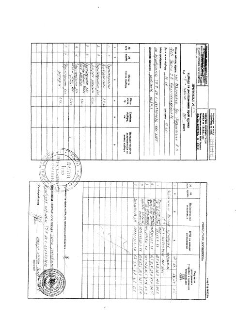 Паспорт-сертифікат на Вермігрунт (стор.2)