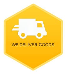 We deliver goods